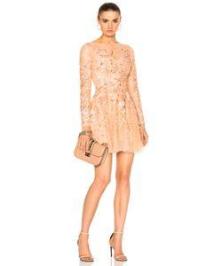 Zuhair Murad | Long Sleeve Mini Dress