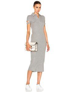 Helmut Lang | Rib Shirt Dress