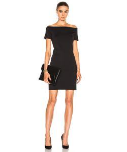 Helmut Lang | Off Shoulder Dress