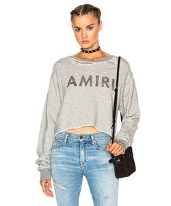 Amiri | Cropped Sweatshirt