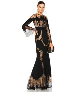Zuhair Murad | Lace Long Sleeve Gown In Size