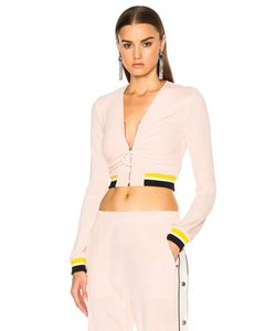 Alessandra Rich | Zip Up Tracksuit Jacket