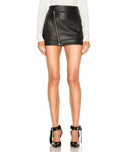 Dion Lee | Leather Biker Mini Skirt