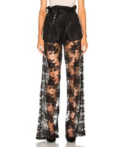 Ryan Roche | Short Lined Lace Trouser Pant
