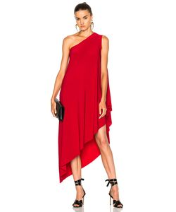 Norma Kamali | One Shoulder Diagonal Dress