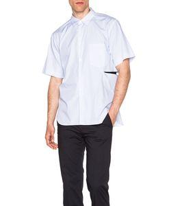 Comme Des Garçons Homme Plus   Broad Stripe Cut Shirt