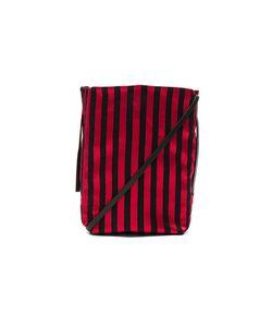 Ann Demeulemeester | Striped Satchel