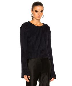 Ryan Roche | Cropped Ribbed Sweater