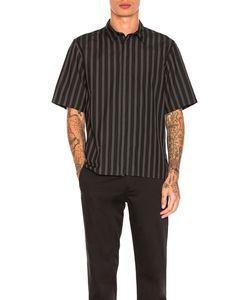 Robert Geller | Over Dyed Stripe Shirt