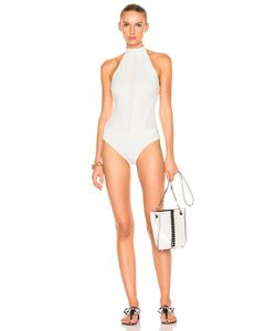 Jonathan Simkhai | Halter Lace Swimsuit