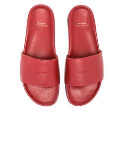 Buscemi | Classic Leather Slide Sandals