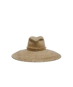 Lola Hats | Jolly Rancher Hat In Neutrals Stripes.