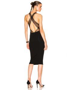 Alexandre Vauthier | Crisscross Back Dress
