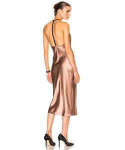 Fleur Du Mal | Cowl Neck Bias Slip Dress