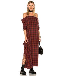 R13 | For Fwrd Exclusive Mini Apron Dress
