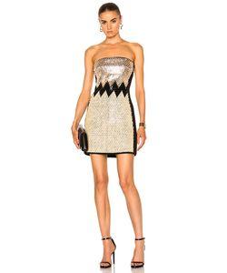 David Koma | Plexi Stones Embroide Dress