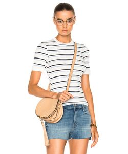 Frame Denim | 70s Double Stripe Fitted Tee