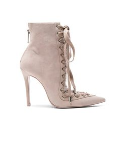 Zimmermann | Lace Up Suede Ankle Boots