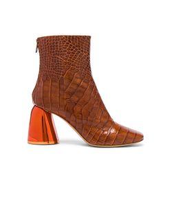 Ellery | Croc Embossed Jezebels Boots
