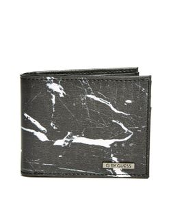 GByGUESS | Marble Faux-Leather Billfold Wallet