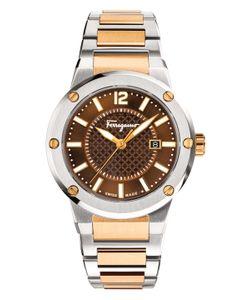 Salvatore Ferragamo | Ferragamof-80 Dial Twotone Bracelet Watch