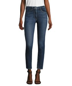 3X1   High Rise Double Needle Skinny Jean