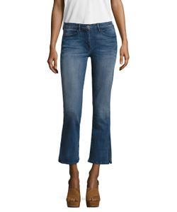 3X1   Mid Rise Split Wide Cuff Jean