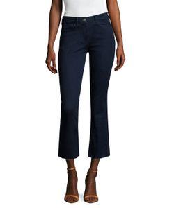 3X1 | Raw Edge Flared Cropped Jean