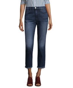 3X1 | W3 Straight Authentic Crop Jeans
