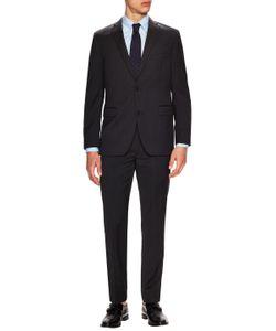 Saks Fifth Avenue | Wool Sharkskin Notch Lapel Suit
