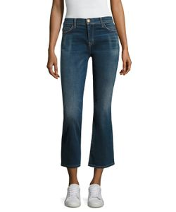 Current/Elliott | The Kick Flare Cropped Jean