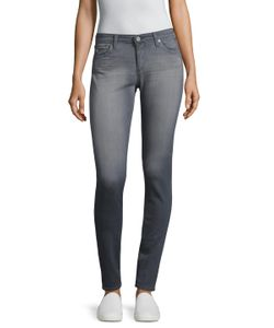 AG Adriano Goldschmied | Faded And Whiskered Denim Leggings