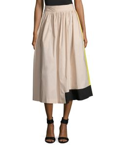Max Mara | Volta A-Line Cotton Skirt