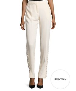 Prabal Gurung | Side Button Panel Pant