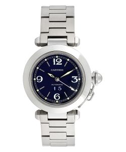 Cartier | Vintage Pasha C Big Date Stainless Steel Watch 35mm