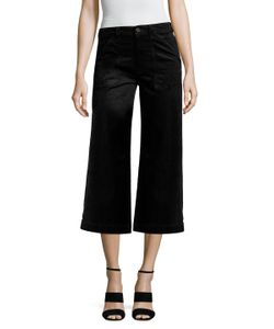 7 For All Mankind | Velvet Cropped Culottes
