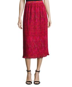 Prabal Gurung | Pleated Chiffon Skirt
