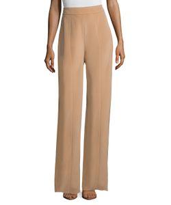 Cushnie Et Ochs | Silk Crepe High-Waisted Pant