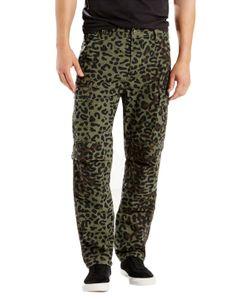 Levi's   Skate Buell Burnt Olive Print Cargo Pants