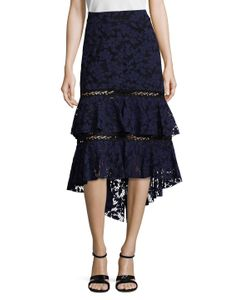 Prabal Gurung | Lace Tiered Skirt