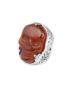 King Baby | Agate Classic Skull Ring