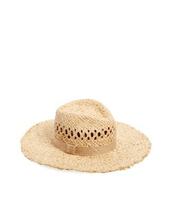 House Of Lafayette | Johnny Fedora Straw Hat With Tassels