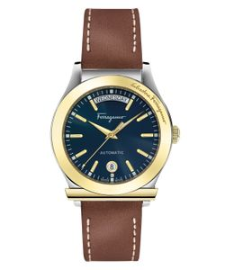 Salvatore Ferragamo | 1898 Sunray Guilloche Dial Watch 40mm