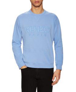 Kenzo | Solid Logo Embroided Sweatshirt
