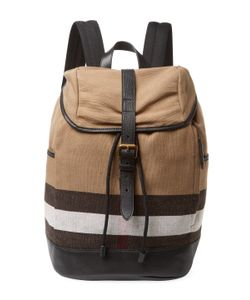 Burberry | Canvas Check Backpack