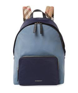 Burberry | Plaid Strap Backpack