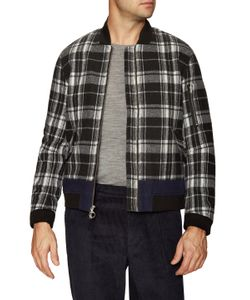 Timo Weiland | Duncan Combo Stripe Bomber Jacket