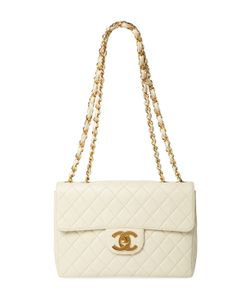 Chanel | Vintage Quilted Lambskin Classic Flap Jumbo