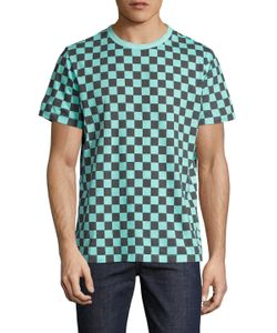 Paul Smith Jeans | Checkered Crewneck T-Shirt