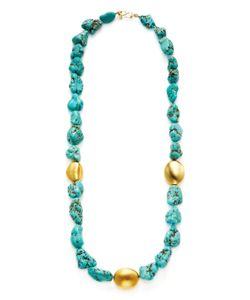 Kenneth Jay Lane | Pebble Station Necklace